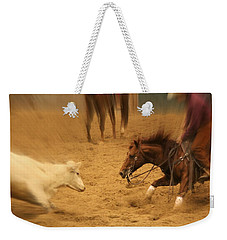 Cutting Horse 8 Weekender Tote Bag