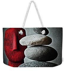 Cycladic Idol Weekender Tote Bag