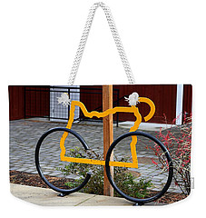 Weekender Tote Bag featuring the photograph Cycle Oregon by Kevin Desrosiers