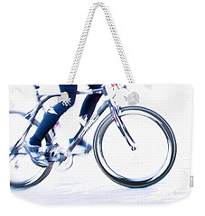Cycling Weekender Tote Bag
