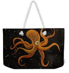 Cycloptopus Black Weekender Tote Bag