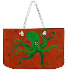 Cycloptopus Red Weekender Tote Bag