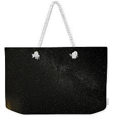 Weekender Tote Bag featuring the photograph Cygnus  Deneb  Vega by Greg Reed