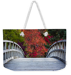 Weekender Tote Bag featuring the photograph Cypress Bridge by Sebastian Musial