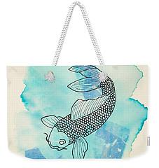 Cyprinus Carpio Weekender Tote Bag by Stefanie Forck