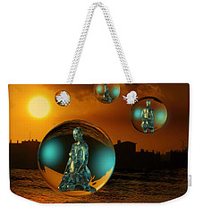 Cyrstal Children Of Sun Weekender Tote Bag by Rosa Cobos