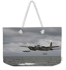 D H Mosquito Weekender Tote Bag by Pat Speirs
