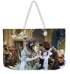 Dachshund Art - Royal Party Weekender Tote Bag