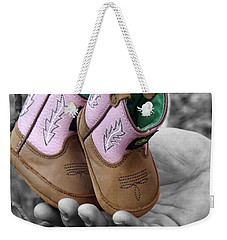 Daddy's Lil Country Girl Weekender Tote Bag