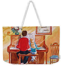 Daddy's Little Girl Weekender Tote Bag by Marilyn Jacobson