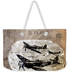 Dad's Flight Training Logbook Weekender Tote Bag