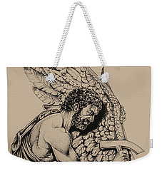 Daedalus Workshop Weekender Tote Bag by Derrick Higgins