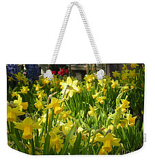 Daffidoils Weekender Tote Bag by Kim Prowse
