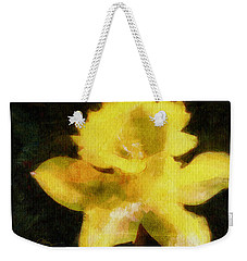 Daffodil Weekender Tote Bag by Greg Collins