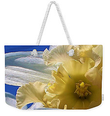 Daffodil In The Sun Weekender Tote Bag by Bruce Bley