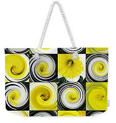 Daffodil Spring Mosaic Weekender Tote Bag by Sarah Loft