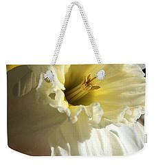Daffodil Still Life Weekender Tote Bag by Kenny Glotfelty