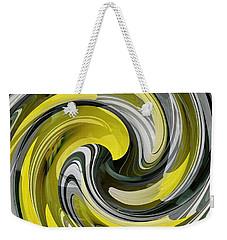 Daffodil Swirl Weekender Tote Bag
