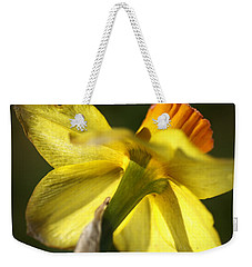 Weekender Tote Bag featuring the photograph Daffodils Grace by Joy Watson