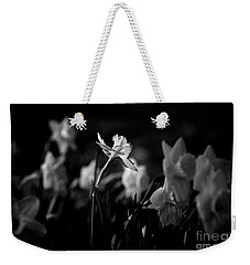Daffodils In Black And White Weekender Tote Bag