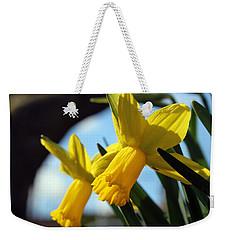 Daffodils Weekender Tote Bag by Joseph Skompski