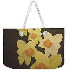 Daffodils Weekender Tote Bag by Terry Frederick