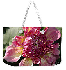 Weekender Tote Bag featuring the photograph Dahlia V by Christiane Hellner-OBrien