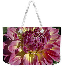 Weekender Tote Bag featuring the photograph Dahlia Vii by Christiane Hellner-OBrien