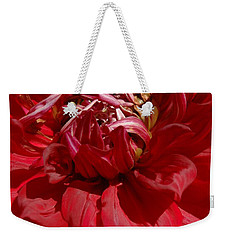 Weekender Tote Bag featuring the photograph Dahlia Viiii by Christiane Hellner-OBrien