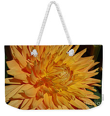 Weekender Tote Bag featuring the photograph Dahlia Xiii by Christiane Hellner-OBrien