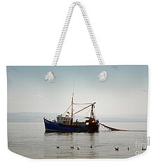 Daily Catch Weekender Tote Bag by Lynn Bolt