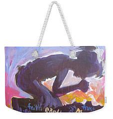 Daily Prayer Weekender Tote Bag