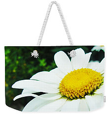 Weekender Tote Bag featuring the photograph Daisy Daisy by Tiffany Erdman