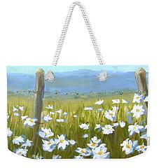 Daisy Dance Weekender Tote Bag