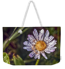 Weekender Tote Bag featuring the photograph Daisy by Hanny Heim