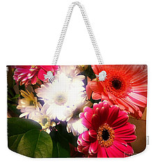 Daisy January Weekender Tote Bag by Meghan at FireBonnet Art