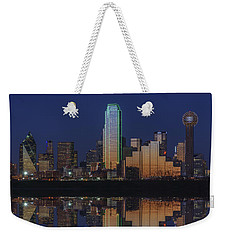 Dallas Aglow Weekender Tote Bag by Rick Berk