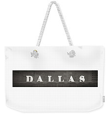 Dallas Weekender Tote Bag