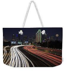 Dallas Night Weekender Tote Bag