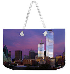 Dallas Sunset Weekender Tote Bag