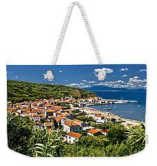 Dalmatian Island Of Susak Village And Harbor Weekender Tote Bag by Brch Photography