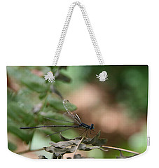 Weekender Tote Bag featuring the photograph Damselfly by Neal Eslinger