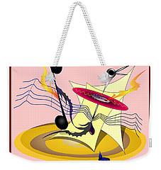 Dance Music Weekender Tote Bag