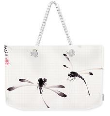 Dance Of The Dragonflies Weekender Tote Bag