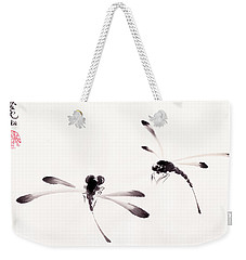 Dance Of The Dragonflies Weekender Tote Bag
