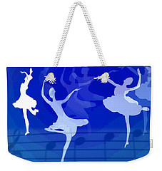 Dance The Blues Away Weekender Tote Bag