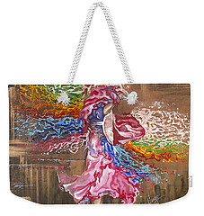 Dance Through The Color Of Life Weekender Tote Bag