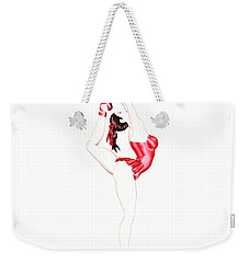 Dancer Weekender Tote Bag by Renate Janssen