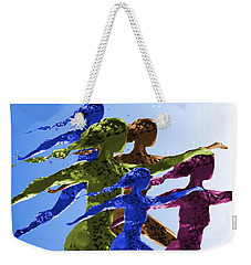 Dancers Weekender Tote Bag by Mary Armstrong