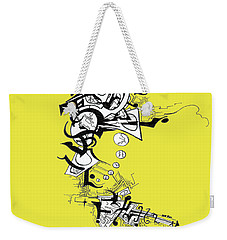 Dancing Angel Weekender Tote Bag